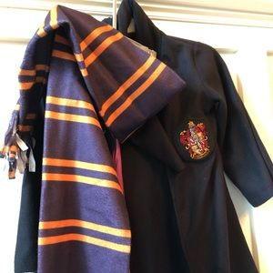 Harry Potter-brand Gryffindor cloke (Youth small)